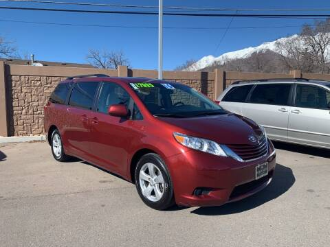 2016 Toyota Sienna for sale at Berge Auto in Orem UT