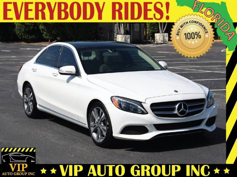 2015 Mercedes-Benz C-Class for sale at VIP Auto Group in Clearwater FL