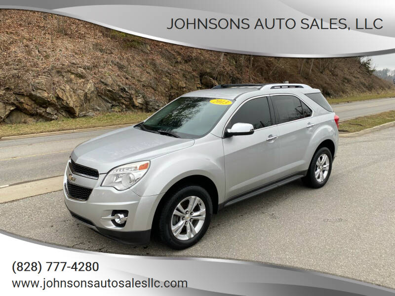 2013 Chevrolet Equinox for sale at Johnsons Auto Sales, LLC in Marshall NC