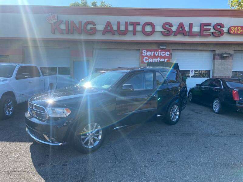 2018 Dodge Durango for sale at KING AUTO SALES  II in Detroit MI