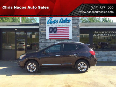 2013 Nissan Rogue for sale at Chris Nacos Auto Sales in Derry NH