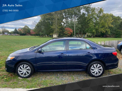 2012 Toyota Corolla for sale at JIA Auto Sales in Port Monmouth NJ
