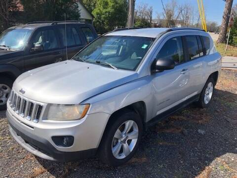 2012 Jeep Compass for sale at Harley's Auto Sales in North Augusta SC