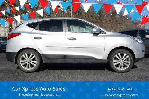 2013 Hyundai Tucson for sale at Car Xpress Auto Sales in Pittsburgh PA