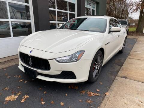 2017 Maserati Ghibli for sale at Village Auto Sales in Milford CT