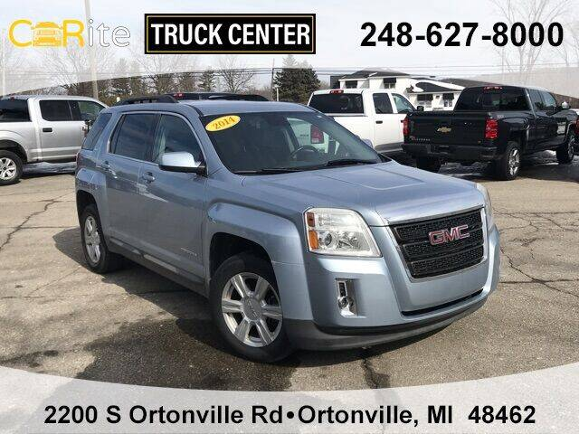 2014 GMC Terrain for sale at Carite Truck Center in Ortonville MI
