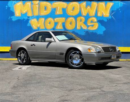 1995 Mercedes-Benz SL-Class for sale at Midtown Motors in San Jose CA