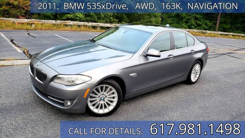 2011 BMW 5 Series for sale at Wheeler Dealer Inc. in Acton MA