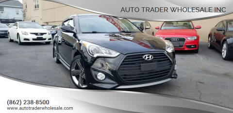 2014 Hyundai Veloster for sale at Auto Trader Wholesale Inc in Saddle Brook NJ