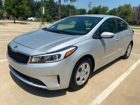 2018 Kia Forte for sale at Safe Trip Auto Sales in Dallas TX