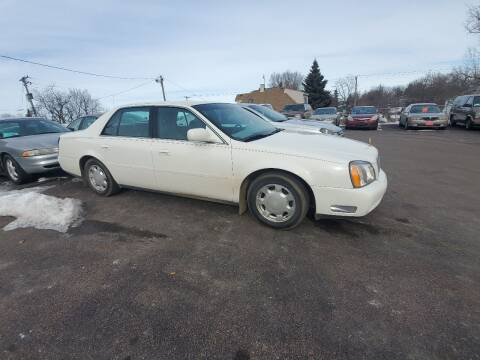 2000 Cadillac DeVille for sale at Geareys Auto Sales of Sioux Falls, LLC in Sioux Falls SD