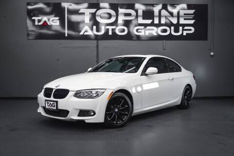 2012 BMW 3 Series for sale at TOPLINE AUTO GROUP in Kent WA