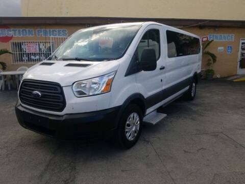 2015 Ford Transit Passenger for sale at VALDO AUTO SALES in Miami FL