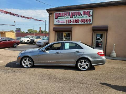 2012 Mercedes-Benz E-Class for sale at SELLECT AUTO INC in Philadelphia PA