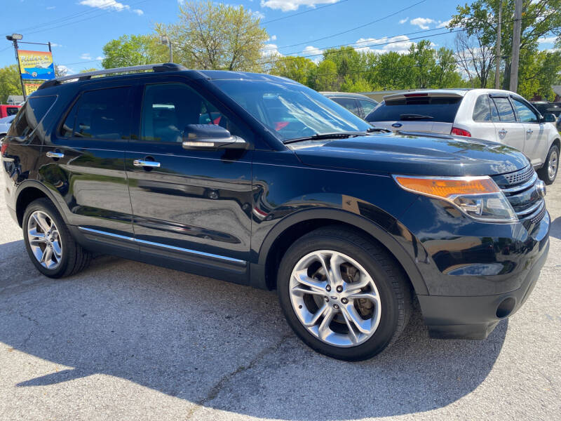 2014 Ford Explorer for sale at Rider`s Classic Cars in Millbury OH