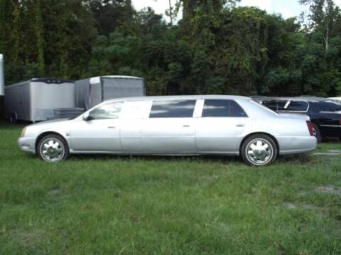 2000 Cadillac DeVille for sale at Classic Car Deals in Cadillac MI