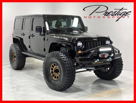 2015 Jeep Wrangler Unlimited for sale at Prestige Motorsport in Rancho Cordova CA