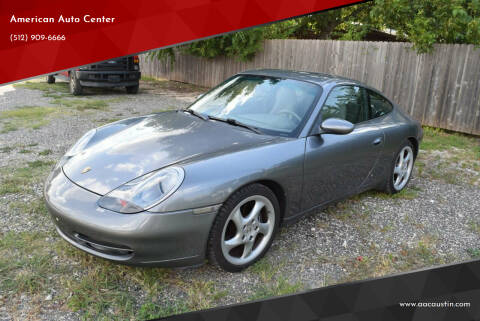 2001 Porsche 911 for sale at American Auto Center in Austin TX