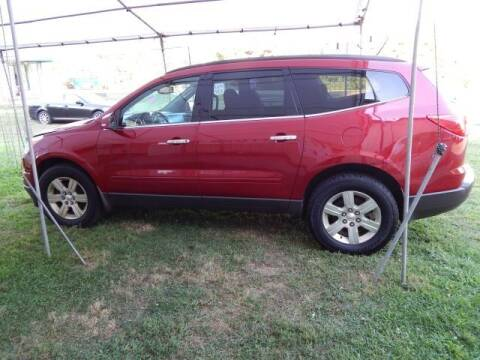 2012 Chevrolet Traverse for sale at PARAGON AUTO SALES in Portage MI