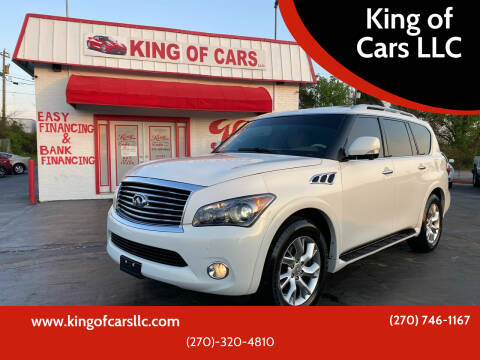2012 Infiniti QX56 for sale at King of Cars LLC in Bowling Green KY