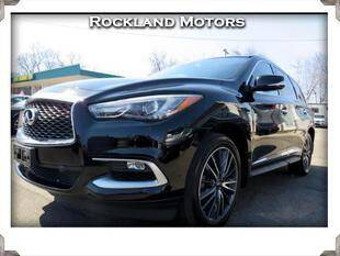 2016 Infiniti QX60 for sale at Rockland Automall - Rockland Motors in West Nyack NY