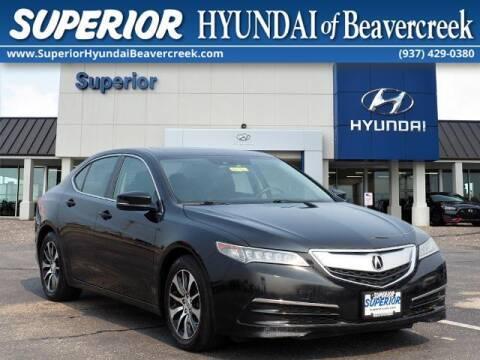 2016 Acura TLX for sale at Superior Hyundai of Beaver Creek in Beavercreek OH