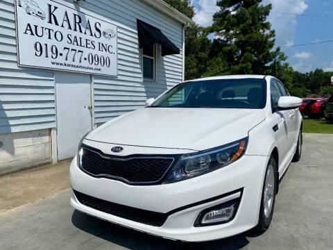 2014 Kia Optima for sale at Karas Auto Sales Inc. in Sanford NC