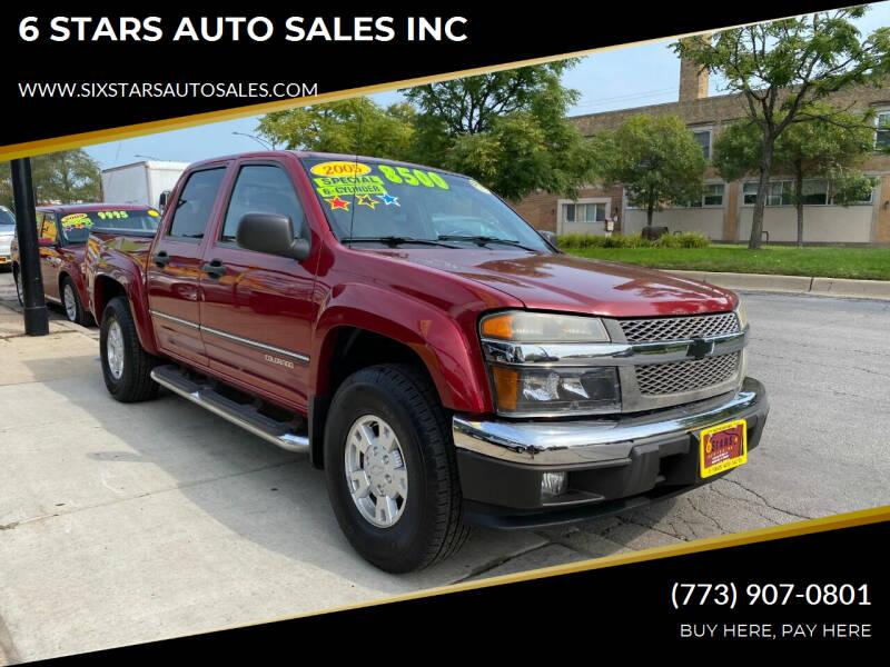 2005 Chevrolet Colorado for sale at 6 STARS AUTO SALES INC in Chicago IL