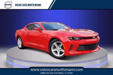 2018 Chevrolet Camaro for sale at Volvo Cars North Miami in Miami FL