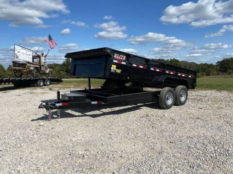 """2021 Elite 83""""x16' Bumper Pull for sale at Ken's Auto Sales & Repairs in New Bloomfield MO"""