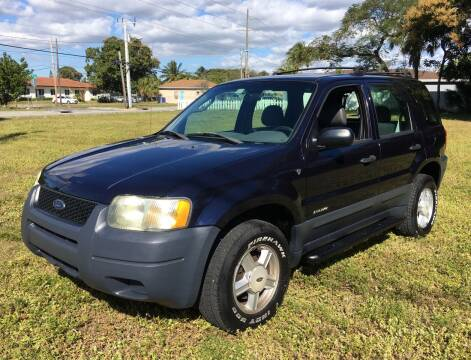 2002 Ford Escape for sale at FIRST FLORIDA MOTOR SPORTS in Pompano Beach FL