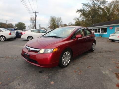 2006 Honda Civic for sale at 6348 Auto Sales in Chesapeake VA