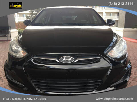 2013 Hyundai Accent for sale at EMPIREIMPORTSTX.COM in Katy TX