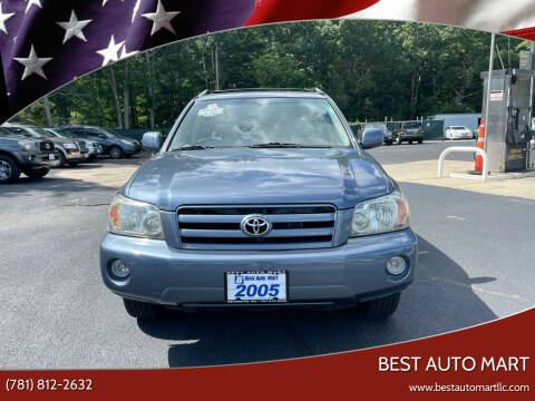 2005 Toyota Highlander for sale at Best Auto Mart in Weymouth MA