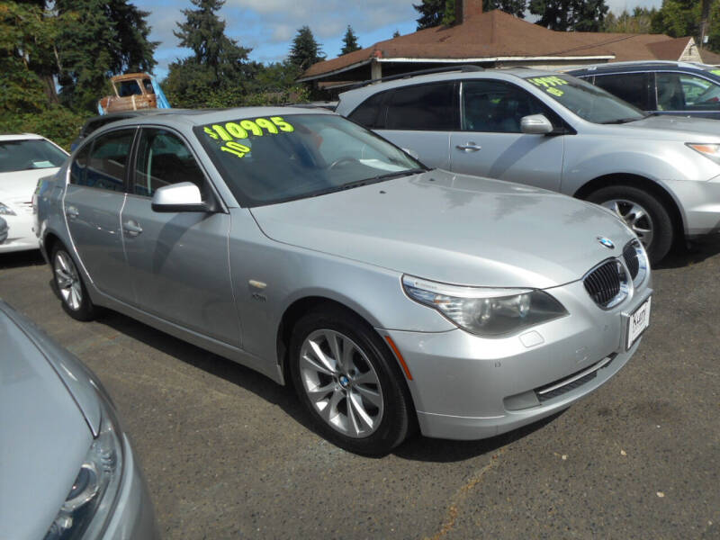 2010 BMW 5 Series for sale at Lino's Autos Inc in Vancouver WA