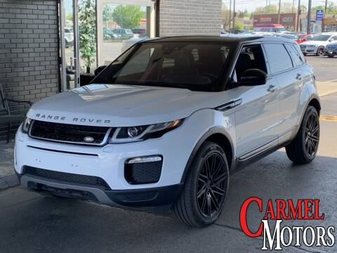 2016 Land Rover Range Rover Evoque for sale at Carmel Motors in Indianapolis IN
