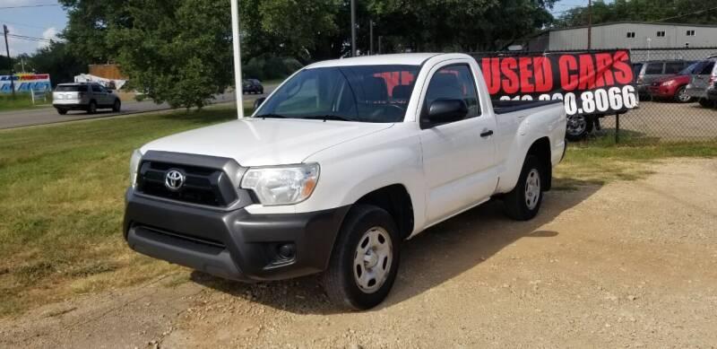 2013 Toyota Tacoma for sale at STX Auto Group in San Antonio TX