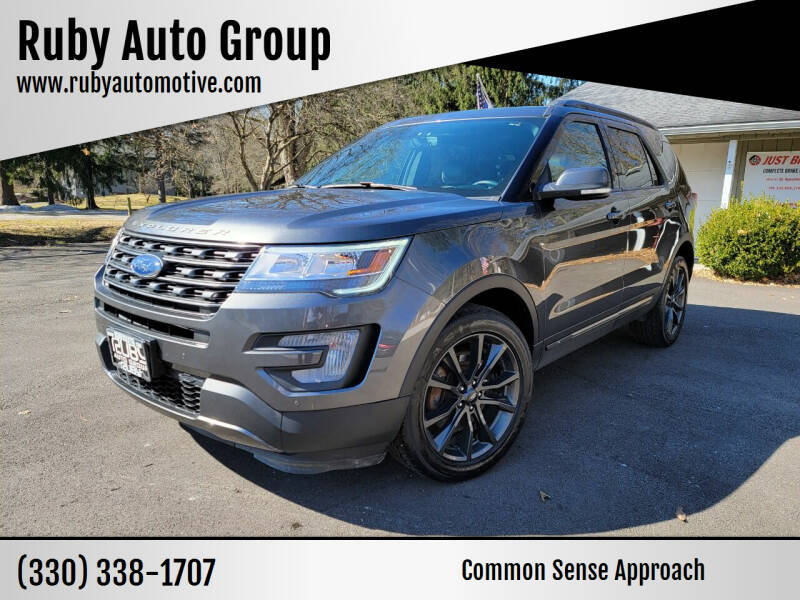 2017 Ford Explorer for sale at Ruby Auto Group in Hudson OH