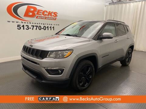 2018 Jeep Compass for sale at Becks Auto Group in Mason OH