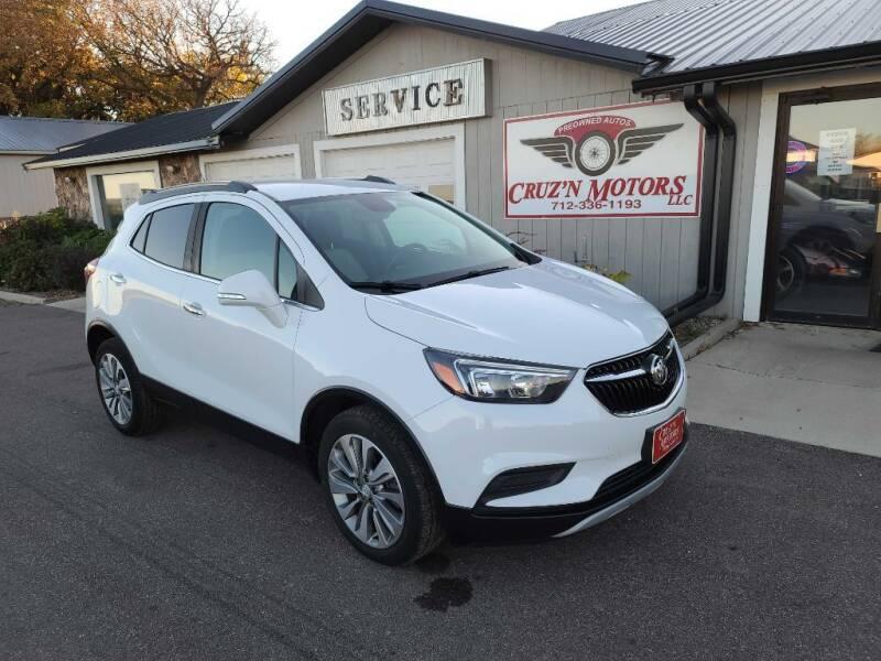 2017 Buick Encore for sale at CRUZ'N MOTORS in Spirit Lake IA