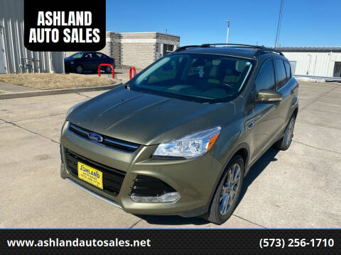 2013 Ford Escape for sale at ASHLAND AUTO SALES in Columbia MO