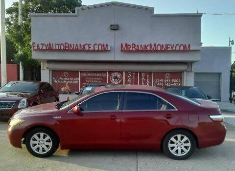 2008 Toyota Camry Hybrid for sale at Eazy Auto Finance in Dallas TX