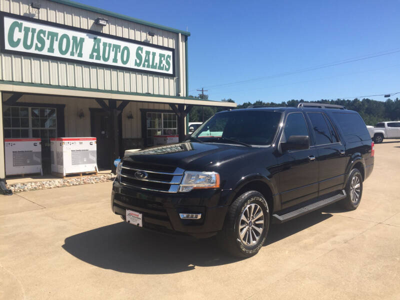 2015 Ford Expedition EL for sale in Longview, TX