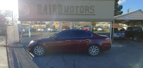 2009 Hyundai Genesis for sale at BAIRD MOTORS in Clearfield UT
