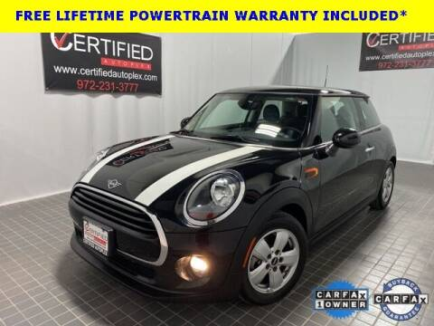 2019 MINI Hardtop 2 Door for sale at CERTIFIED AUTOPLEX INC in Dallas TX