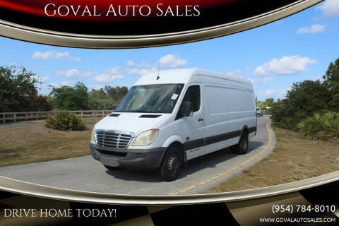 2012 Freightliner Sprinter Cargo for sale at Goval Auto Sales in Pompano Beach FL