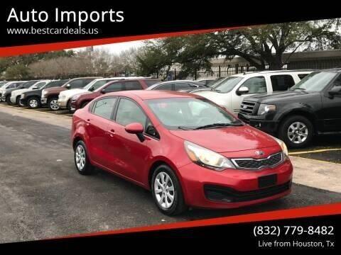 2013 Kia Rio for sale at Auto Imports in Houston TX