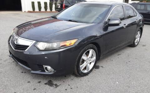 2012 Acura TSX for sale at Mathews Used Cars, Inc. in Crawford GA