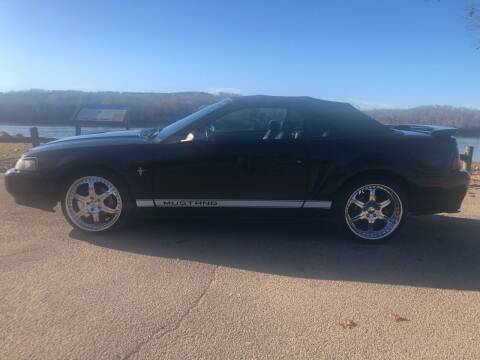 2002 Ford Mustang for sale at Monroe Auto's, LLC in Parsons TN