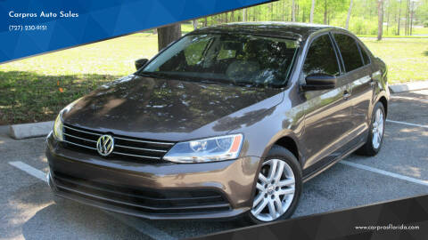 2015 Volkswagen Jetta for sale at Carpros Auto Sales in Largo FL
